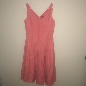 Slip dress Ann Taylor tea length dress
